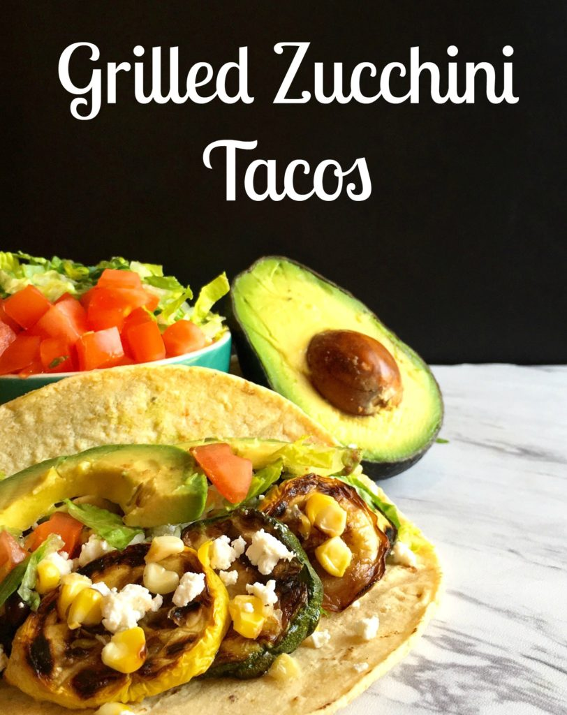 Grilled Zucchini Tacos - Byte Sized Nutrition