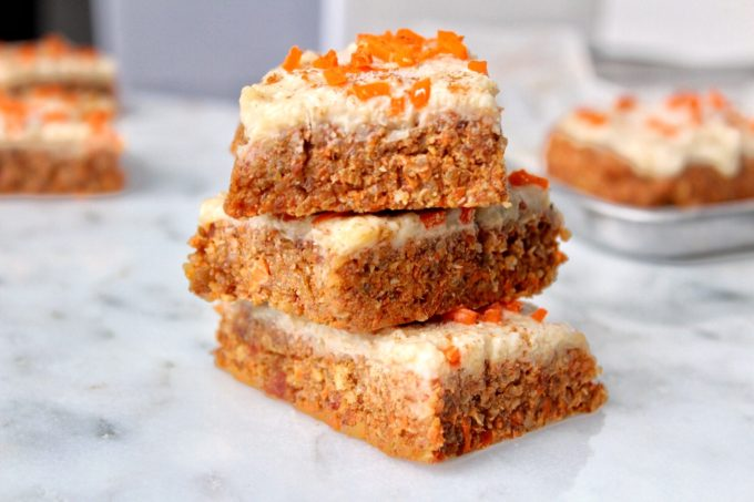 Vegan Carrot Cake Cream For Top
